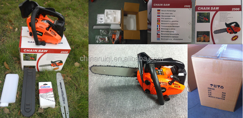 "2500 chainsaw 0.9kw With 12"" bar"