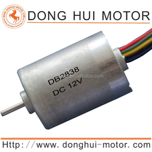 18V 24V dc brushless fan motor for water pump oxy generator