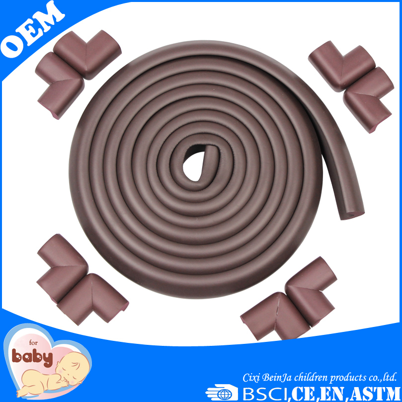 2016 High quality baby safety rubber foam sharp edge corner protector baby bumpers for tables