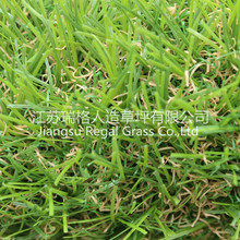 Four color synthetic landscaping grass artificial grass for outdoor decoration