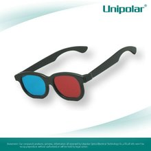 plastic red-cyan polarized 3d glasses for movie,tv,video