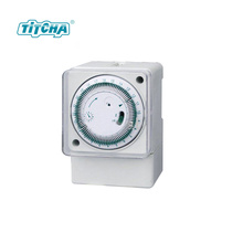 China cheap battery powered cute colorful mechanical timer
