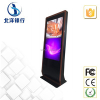 Full hd 1080p touch screen digital sig. kiosk totem display with wifi