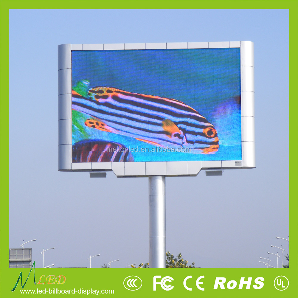 Advertising products outdoor led display manufacturers in shenzhen led tv hd