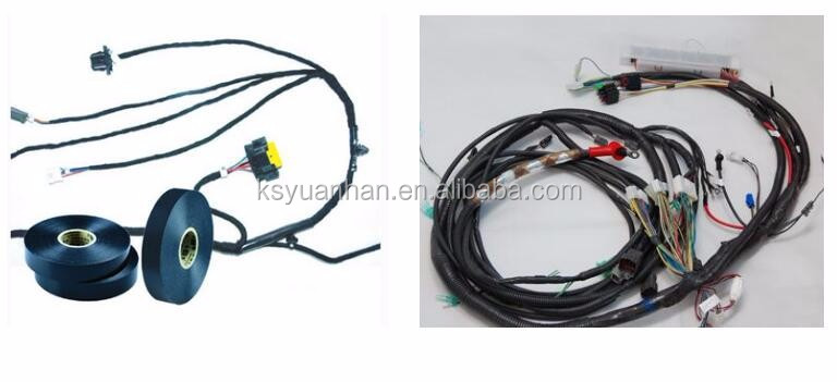 Wiring Harness Wrapping Machine : Insulating tape cm diameter cars plaits cable wire