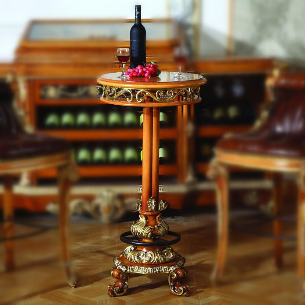 Lujo franc s estilo barroco muebles bar en casa set for Muebles modernos estilo europeo