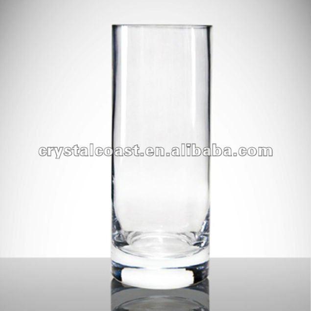 Effacer verre vases suspendus grand verre transparent - Vase en plastique pour centre de table ...