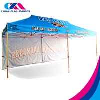 manufacture custom advertise exhibition frame display pop up tent china