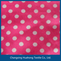 Printed polyester fabric for decoration/home textile