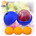 Food Grade Personalized Ball Shaped Silicone Ice Cube Maker Tray Factory