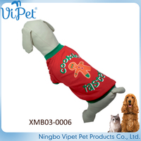 christmas wholesale customized good quality clothes for dog