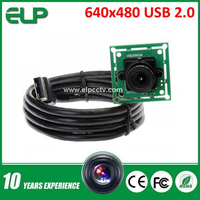 Linux VGA OV7725 webcam usb 2.0 pc camera driver free download ELP-USB30W02M-L36
