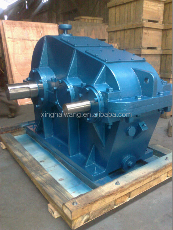 ZL series soft tooth cylindrical gearbox