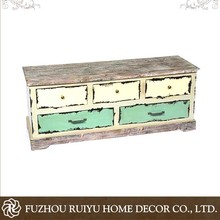 Alibaba wholesale classic wooden boutique OEM handmade wood cabinet small drawer