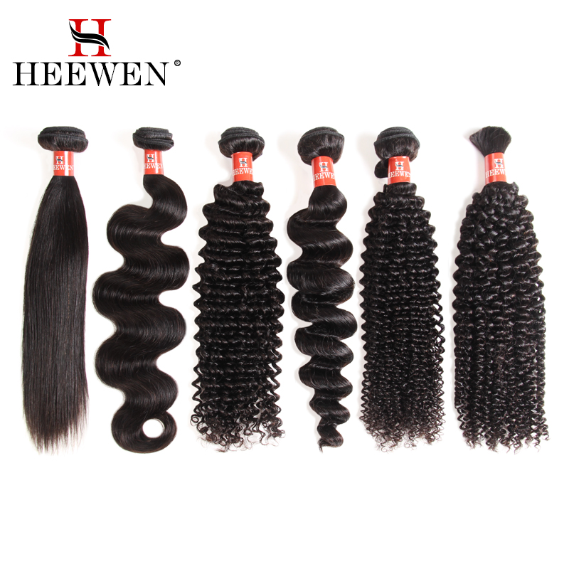Heewen wholesale 100% virgin human hair extension, Full cuticle remy hair weave