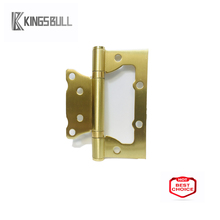 Golden brush 4 inch home door hinge Sub-Mother Hinges for decorative