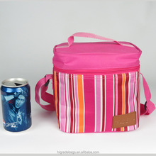 promotional insulated beer 6 pack can cooler bag