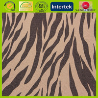 new Canvas Series Printed 100% Natural Cotton Fabric For Shoes