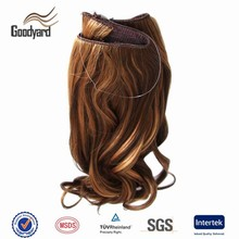 Wholesale cheap synthetic halo hair extension alibaba hair products