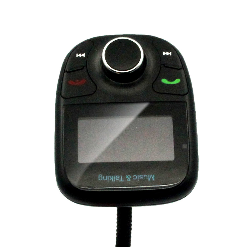 Universal LCD Bluetooth WirelessCar MP3 Player FM Transmitter Modulator With USB Charging