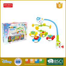 Zhorya language packing Good sale baby mobiles toys battery operated musical bed bell with colourful light