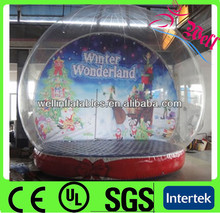 Christmas decoration happy new year decorations artificial white snow for inflatable cheap snow globe
