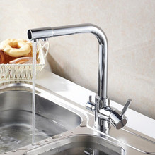 Eco-friendly Drinking Water Tap 3 Way Water Purifier Kitchen Faucet