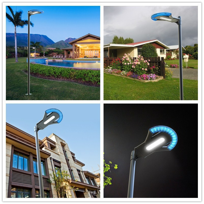 Street lampe a led solaire buy lampe solaire lampe a led - Lampe solaire decorative exterieure ...