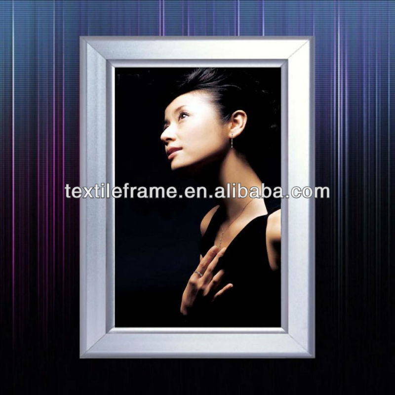 poster display frame with modern figuration