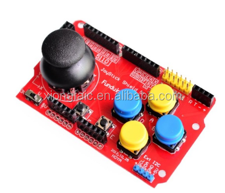 Gamepads JoyStick Keypad Shield PS2 nRF24L01 Nk 5110 LCD I2C