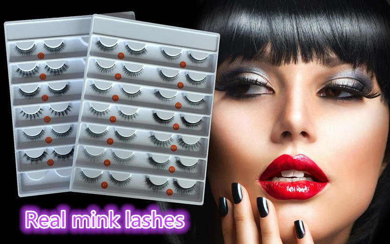 Wholesale price premium 100% genuine 3D wispy mink lashes free samples