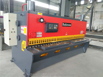 guillotine plate shearing machine for thickness 20mm and length 4000