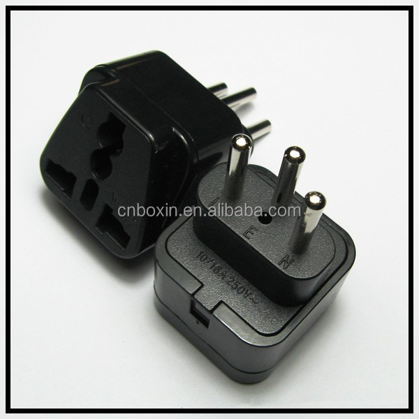 Universal plug Germany to swiss ahead ac adaptor world travel adapter