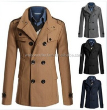 2015 New cheap coat hot sale men's custom men fancy winter coat