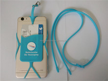 Silicone Lanyard Case Cover Holder Sling Necklace Wrist Strap For Cell Phone