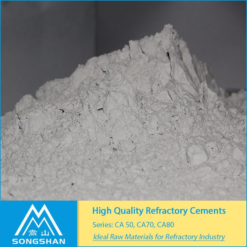 refractory cement ca50 ca70 ca80 alternative To SECAR 51 SECAR 71 SECAR 80