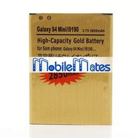 Wholesale Golden 2850mAh High Capacity Battery for Samsung Galaxy S4 Mini i9190 i9192 i9195