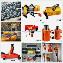 factory wholesale Transmission Chain Safety Lift Jack Series Pallet Truck Magnetic Lifter Electric Wire Rope Hoist Lever Hoist
