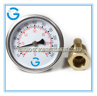 High quality black steel oven temperature gauge