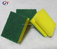 wholesale kitchen cleaning sponge sponge scourer with Abrasive Scouring Pad