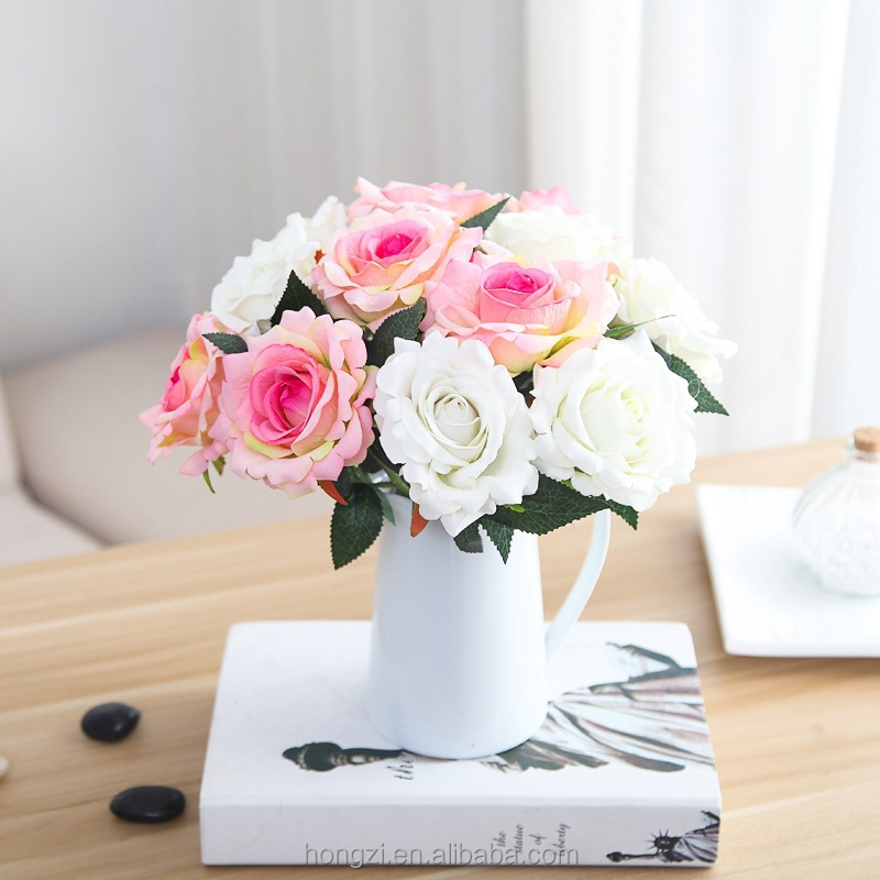 rose flower wholesale flower Ruyi simulation export Home Furnishing furnishings <strong>wedding</strong>