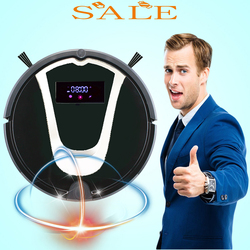 Magic Electric Remote Control Sweeper Dust Water Sucking Machine House Vacuum Cleaning Robot with Price List