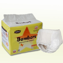 High Quality Competitive Price Biodegradable Adult Diaper pants Manufacturer from China