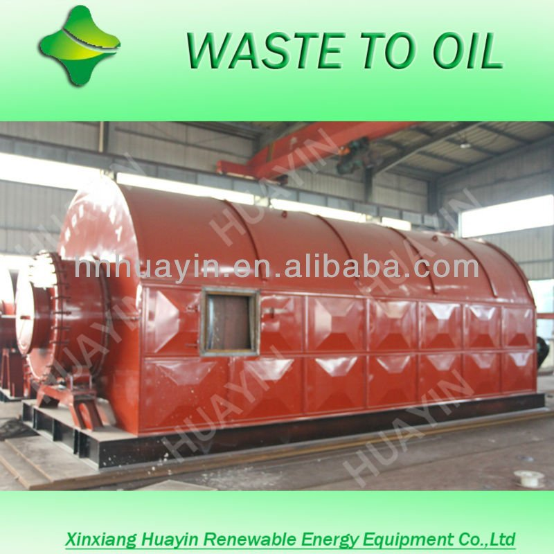 latest technology Tyre oil waste engine Lubricant Transformer Oil Distillation Plant