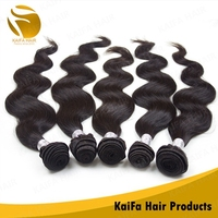 Wholesale unprocessed remy peruvian hair weaving