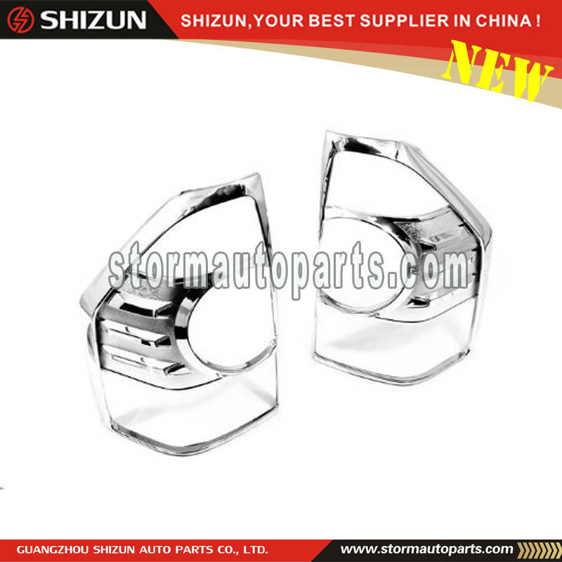 ABS Chrome Plastic Cover For Mitsubishi Pajero V73 2012 Tail Lights