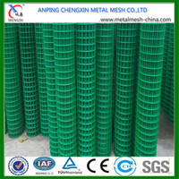 "Anping china factory 1/2"" welded wire mesh, pvc welded wire mesh"