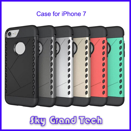 Genuine Leather Mobile Phone Case for iPhone7, Real Leather Case for iPhone7