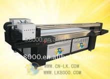 2 pieces Dx5 heads printer 2500*1300mm uv lamp for printer