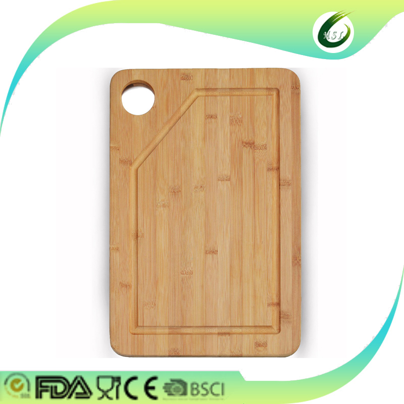 organic bamboo carved bread cutting boards